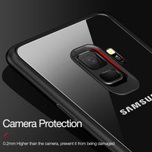 Load image into Gallery viewer, Phone Case - Luxury Ultra Thin Shockproof Transparent Back Cover for Samsung S9 S9 Plus