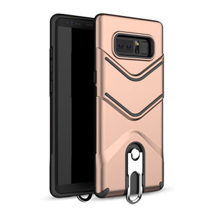 Phone Case - Shockproof Armor Metal Holder Protective Cover Case For Samsung S8 S8 Plus Note 8 S7 S7 Edge