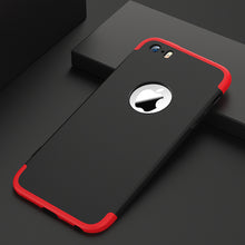 Load image into Gallery viewer, Phone Case - 3 in 1 Full Protection Anti-knock Case + Tempered Glass For iPhone 7 7 Plus 6 6S Plus