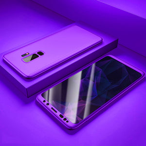 Phone Case - Luxury 360 Degree Full Cover Shockproof Case For Samsung S9 S9 Plus S8 S8 Plus Note9 Note8 S7 S7 Edge