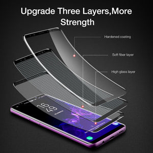 Screen Protector - 3D Curved Full Cover Ultra Soft Film For Samsung S8 S8 Plus S9 S9 Plus (Not Tempered Glass)