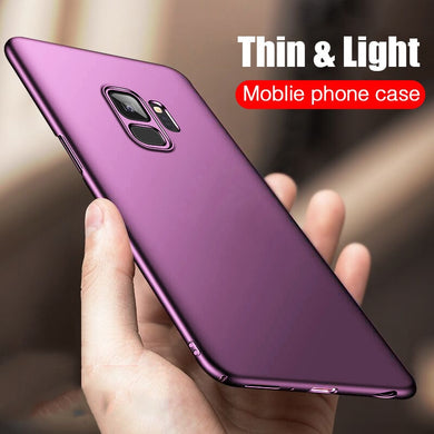 Phone Case - Luxury Slim Frosted Hard Protective Case For Samsung S9 S9 Plus