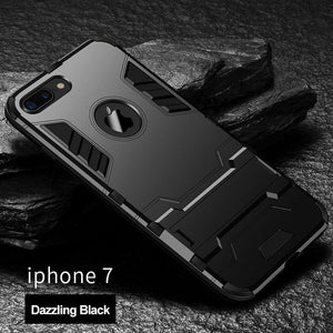 Phone Case - Luxury Shockproof Armor Back Cover For iPhone X 8 7 6 6s Plus