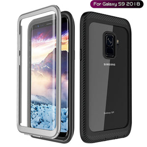 Phone Case - Life Waterproof Shockproof Rugged Clear Bumper Case + Built-in Screen Protector For Samsung S8 S8 Plus S9 S9 Plus