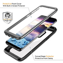 Load image into Gallery viewer, Phone Case - Life Waterproof Shockproof Rugged Clear Bumper Case + Built-in Screen Protector For Samsung S8 S8 Plus S9 S9 Plus