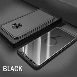 Phone Case - 360 Full Cover Protective Cover Case With Screen Protector For Samsung Note 9 Note 8 S9 S9 Plus S8 S8 Plus S7 S7 Edge