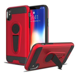 Phone Case - Shockproof Armor Magnetic Kickstand Case Cover For iPhone X 8 7 6 6S Plus