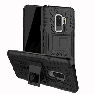 Phone Case - Heavy Armor Shockproof Silicone Protective Cover For Samsung S8 S8 Plus S9 S9 Plus Note 8 Note 9