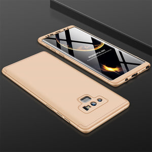 Full Protection 3 in1 Hard PC Phone Case For Samsung Note 9 Note 8