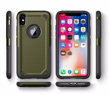 Load image into Gallery viewer, Phone Case - Military Anti Shock Camouflage Armor Case For iPhone X XR XS XS MAX 8 7 6 6S Plus