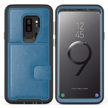 Load image into Gallery viewer, Multi Functional TPU Leather Wallet Flip Case Cover For Samsung Galaxy S9 S9 Plus Note 9