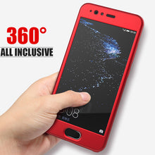 Load image into Gallery viewer, Phone Case - Luxury 360 Degree Full Coverage Case With Glass Film For Huawei P20 P10 P9 Lite Plus Mate 10 Lite Pro