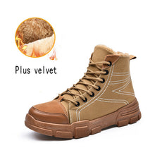 Load image into Gallery viewer, Men's Shoes - New Fashion Winter Plush Warm Anti Skidding Boots