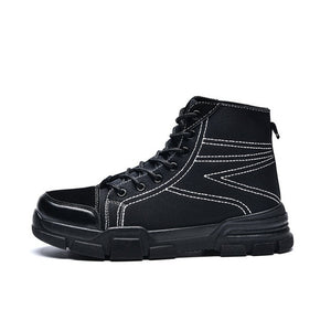 Men's Shoes - New Fashion Winter Plush Warm Anti Skidding Boots