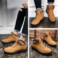 Load image into Gallery viewer, Men's Shoes - Outdoor Winter Warm Comfortable Anti Skid Ankle Boots