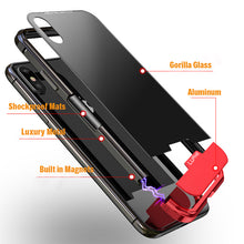 Load image into Gallery viewer, Phone Case - Luxury Shockproof Aluminum Metal Bumper Magnetic Case For iPhone X XS XS Max