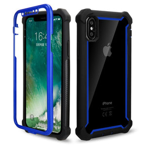 Phone Case - Luxury Doom Armor Heavy Duty Protection Phone Case For iPhone XS XS Max XR X 8 7 6 6S Plus