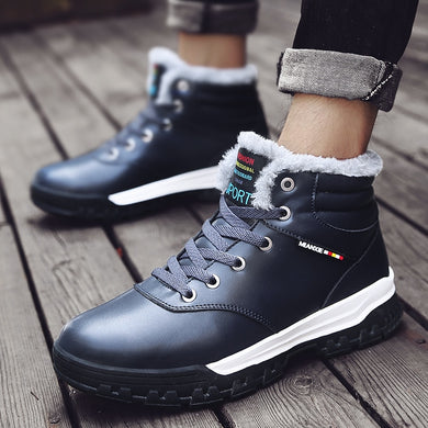 Men's Shoes - New Arrival Winter Keep Warm Waterproof Wear-resisting Comfortable Sneakers
