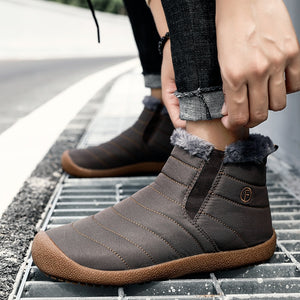 Men's Shoes - New Winter Keep Warm Outdoor Waterproof Casual Shoes