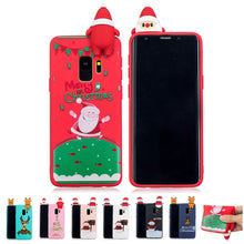 Load image into Gallery viewer, Phone Case - 3D Cute Cartoon Christmas Soft TPU Case For Samsung Note9 Note8 S9 S9 Plus S8 S8 Plus S7 S6 Edge
