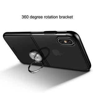 Phone Case - Luxury Magnet Ring Armor Shockproof Phone Case For iPhone X XR XS XS Max