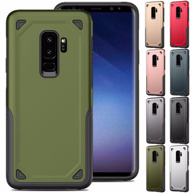 Phone Case - Luxury Shockproof Rugged Armor Phone Case For Samsung Galaxy S10 S10 Plus S10e S9 S9 Plus S8 S8 Plus