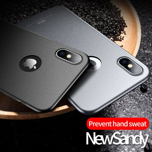 Phone Case - Ultra Slim Shockproof Sandy Matte Case For iPhone X XR XS MAX 8 7 6 6S Plus
