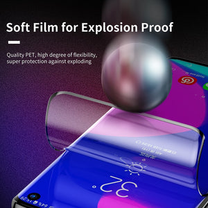 Screen Protector - 2pcs 0.15mm Ultra Thin Full Coverage Soft Film For Samsung Galaxy S10 S10 Plus (Not Glass)