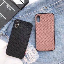 Load image into Gallery viewer, Phone Case - Soft Silicone Waffle Shoe Case For iPhone X XR XS MAX 8 7 6 6S Plus