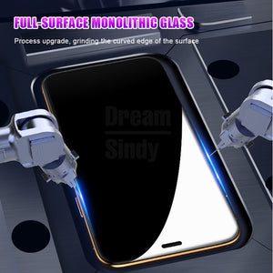 Screen Protector - 20D Curved Full Protective Tempered Glass For iPhone X XR XS Max 8 7 6 6s Plus