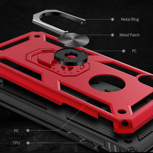Phone Case - Magnet Ring Armor Shockproof Phone Case For iPhone X XR XS MAX 8 7 6 6s Plus