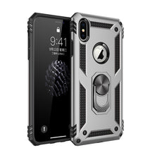 Load image into Gallery viewer, Phone Case - Magnet Ring Armor Shockproof Phone Case For iPhone X XR XS MAX 8 7 6 6s Plus