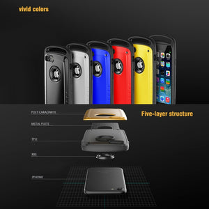 Phone Case - Heavy Duty Armor Shockproof Silicone Case For iPhone X XR XS Max i8 i7 Plus