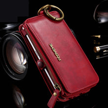 Load image into Gallery viewer, Phone Case - Retro Leather Belt Clip Card Wallet Case For Samsung