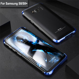 Phone Case - Luxury 3 in 1 Metal Aluminum Case For Samsung S9 S9 Plus S8 S8 Plus Note8