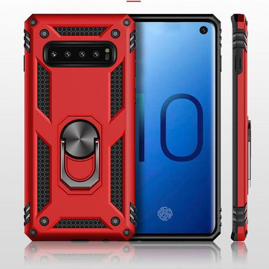 Phone Case - Armor Shockproof Car Magnet Case For Samsung Galaxy S10(5g) S10e S10 S9 S8 Plus Note 10pro10 9 8