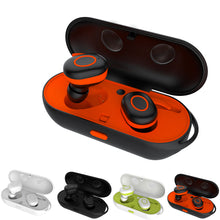 Load image into Gallery viewer, Earphone - Anti-Drop Wireless Stereo Twins Earphone With Battery Box