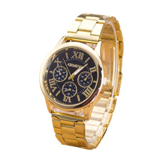 Casual Gold Plated Watch