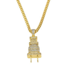 Iced Out Plug Pendant