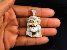 Iced Out Jesus Piece
