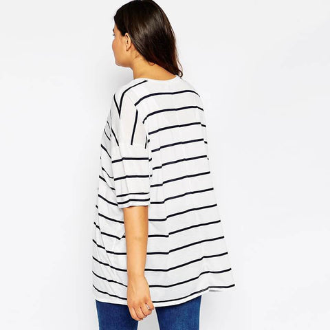 Black Stripe Soft T-shirt
