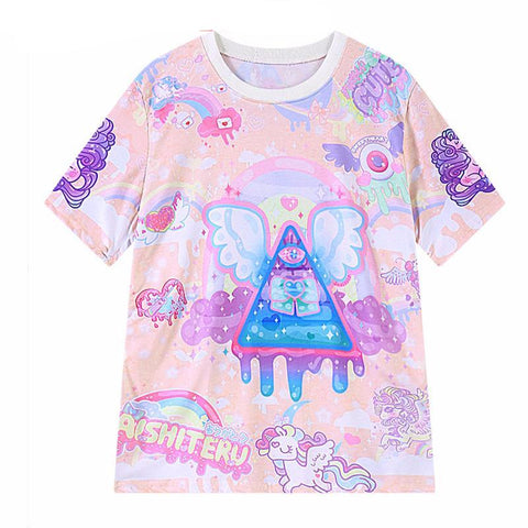 Illuminati All Over Print T-Shirt