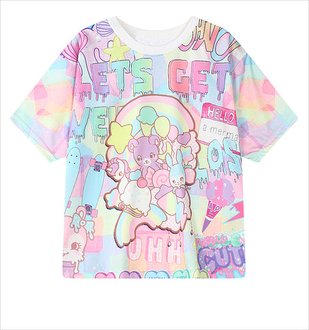 Lets Get Weird All Over Print T-Shirt