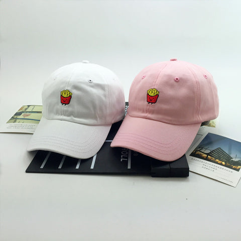 French Fries Embroidered Trucker Hat