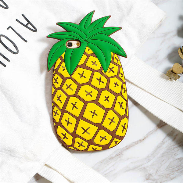 Large Pineapple iPhone Case