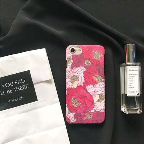 Spring Shades of Pink Blossom iPhone Case