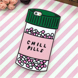Chill Pills & Love Potion Silicone iPhone Case