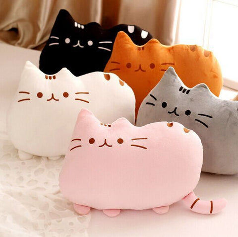 Stuffed Cat Animal Pillows