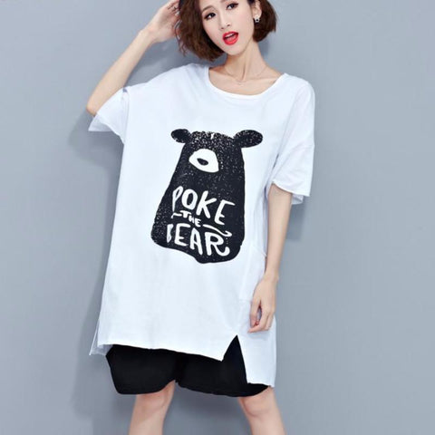Poke The Bear Oversize T-Shirt Dress
