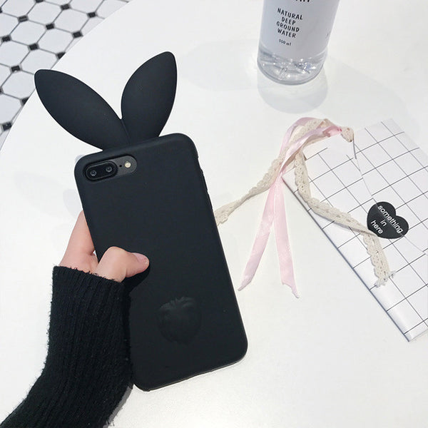3D Rabbit Ear iPhone Case